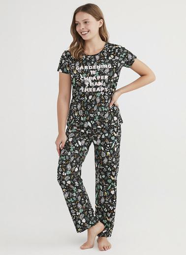 Penti Çok Renkli Gardening Pijama Takımı Renkli